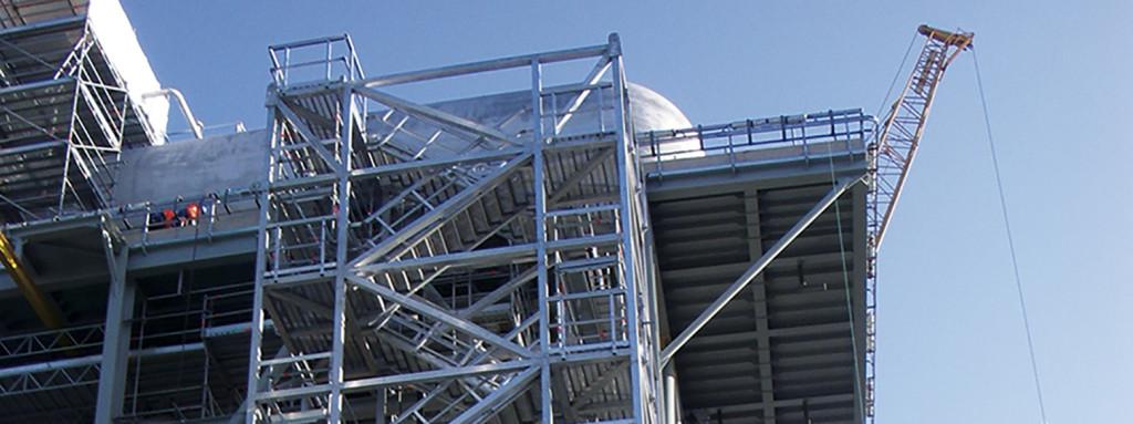 Stair towers marine aluminium for Stair tower